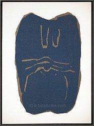 Raoul Ubac: «Torse» 1966 Lithographie originale pour Maeght et Redfern