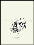 Marc Chagall: Paradis, Lithographie originale, Verve Bible 1960