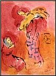 Marc Chagall: Ruth glaneuse, Lithographie, Dessins pour la Bible