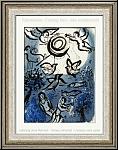 Marc Chagall: Création (Jardin d'Eden) 1960, Verve Dessins pour la Bible, Lithographie originale - ½uvre gravé