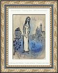 Marc Chagall: Esther, 1960, Lithographie originale Verve Dessins pour la Bible, ½uvre gravé | estampes origina