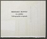 Bernard Buffet: Les ombelles, Nature morte avec des fleurs des champs, 1972, Lithographie originale Mourlot