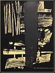 Pierre Soulages: Lithographie originale n° 9, 1959 (Mourlot)