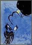 Marc Chagall: Moîse reçoit les tablets de la loi, 1956, La Bible