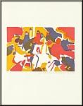 Wassily Kandinsky: « Orientalisches » - Bois gravé sur papier Arches