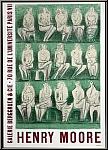 Henry Moore: Galerie Berggruen & Cie 1957, Lithographie originale