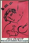 Marc Chagall: Le Peintre en rose, 1959, Musée des Arts Décoratifs