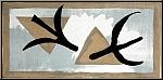 Georges Braque: Les martinets, 1959, Lithographie Mourlot
