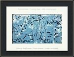 Joan Miró: Labyrinthe bleu, 1956, Lithographie originale, langue symbolique de l'artiste | ½uvre graphique