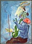 Marc Chagall: Printemps, 1938, Lithographie pour Verve, Mourlot