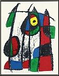 Joan Miro: Le chaton curieux, 1975, Lithographie originale n° VII