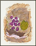 Georges Braque: Lithographie originale, Nature morte, 1962 Kronenhalle