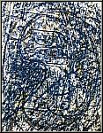 Max Ernst: Lithographie originale « La forêt bleue », 1962