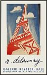 Robert Delaunay: Tour Eiffel 1956 Galerie Beyeler Lithographie Mourlot
