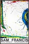Sam Francis: Michel Waldberg «Metaphysique du vide» 1986, Lithographie