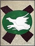 Georges Braque: Oiseau sur fond de « X » 1958 Lithographie originale