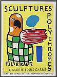 Fernand Léger: Affiche Sculptures polychromes Galerie Louis Carré 1953