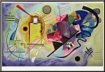 Wassily Kandinsky: Lithographie « Jaune Rouge Bleu » 1960, Mourlot