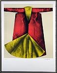 Paul Wunderlich: « Manteau rouge » 1973 Lithographie originale signée