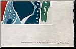 Ernst Wilhelm Nay: Gravure originale, aquatinte en couleurs « 1965-7 » (Gabler 81) imprimée par George Visat